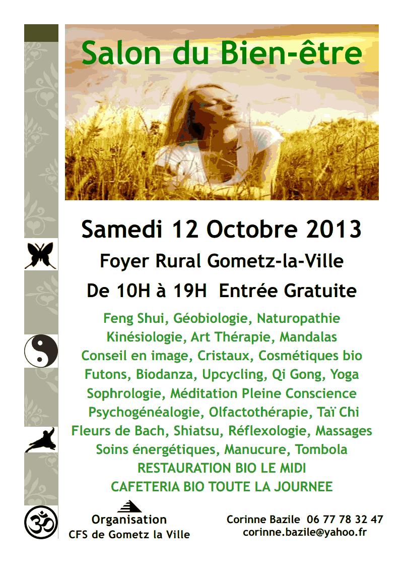 Salon du bien tre 12 octobre 2013 culture fetes sports for Salon bien etre