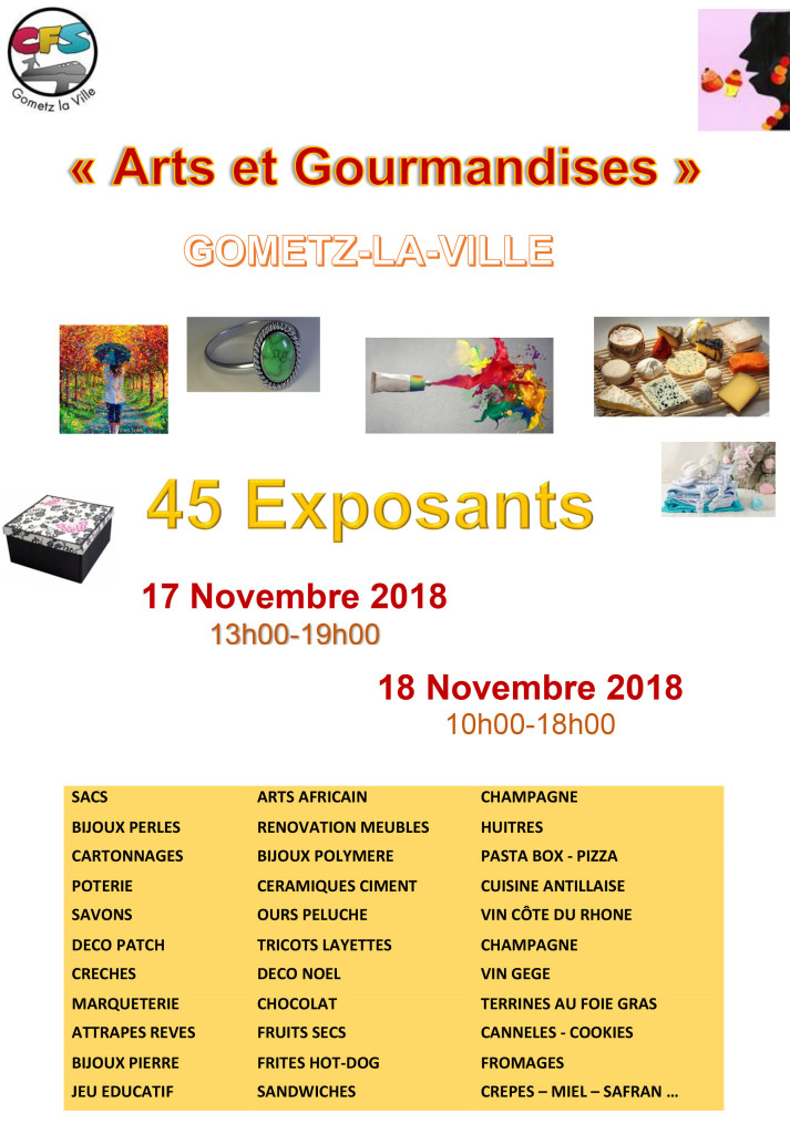 Affiche 2018+ expo